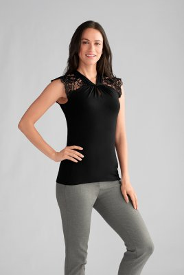 Amoena Top Embroidery